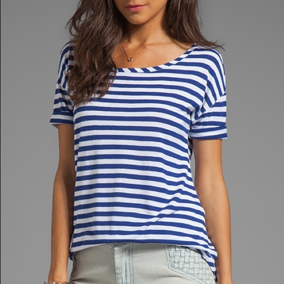 Juicy Couture Tops - NWT Juicy Couture Striped Malibu Top - S